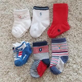 familiar - 赤ちゃん靴下 6足セット