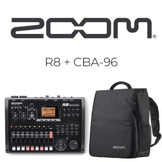 Zoom - ZOOM R8 マルチトラックレコーダー + CBA-96 多機能バッグ