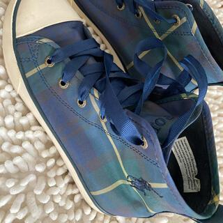ポロラルフローレン(POLO RALPH LAUREN)のラルフローレン 靴 21センチ(スニーカー)