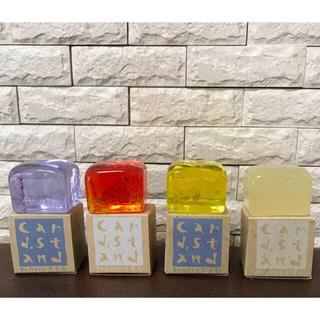 ☆新品☆ガラス カードスタンド4個セット(その他)