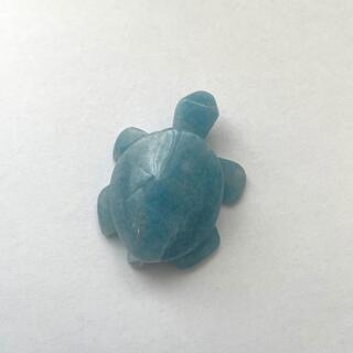 レア!トロレアイトインクォーツ(トロール石)の亀(カメ)さん 優しい色合い🌟(彫刻/オブジェ)