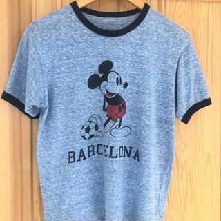 Tシャツ sophnet BARCELONA バルセロナ ミッキー ディズニー