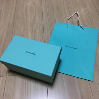 ティファニー(Tiffany & Co.)のティファニー 空箱 紙袋(小物入れ)