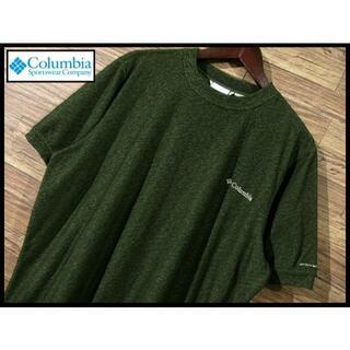 コロンビア(Columbia)の★ G② XL 美品 コロンビア ホートンベイ ショートスリーブ Tシャツ 緑(Tシャツ/カットソー(半袖/袖なし))