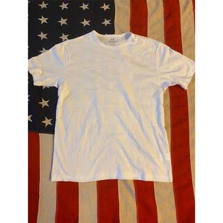シップス(SHIPS)の美品!シップスShips 半袖白Tシャツ!MadeinJapan Edifice(Tシャツ/カットソー(半袖/袖なし))