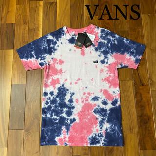 ヴァンズ(VANS)の新品未使用!VANS ヴァンズ バンズ タイダイ柄 Tシャツ(Tシャツ/カットソー(半袖/袖なし))