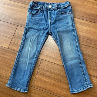 ダブルビー(DOUBLE.B)のミキハウスダブルビーデニムジーンズパンツ90(パンツ/スパッツ)