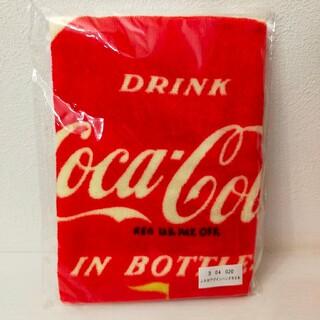 コカコーラ(コカ・コーラ)のコカ・コーラ レトロデザイン ハンドタオル (タオル/バス用品)