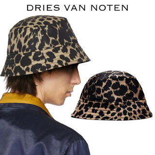 ドリスヴァンノッテン(DRIES VAN NOTEN)のDriesVanNoten ドリスヴァンノッテン レオパード バケットハット(ハット)