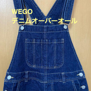ウィゴー(WEGO)のWEGO デニムオーバーオール サロペット レディース Mサイズ(サロペット/オーバーオール)