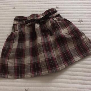 ボンポワン(Bonpoint)の120 bonpoint ボンポワン スカート チェック 8(スカート)