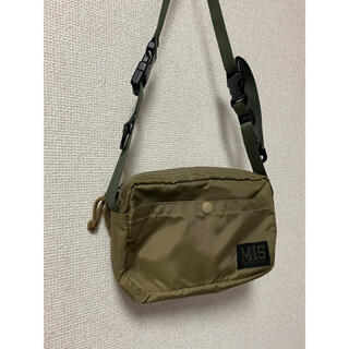 uniform experiment - uniform experiment MIS SHOULDER BAG カーキ