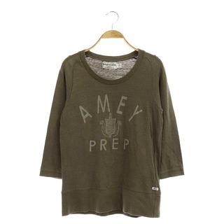 アメリカーナ(AMERICANA)のアメリカーナ AMERICANA ロングTシャツ カットソー カーキ /HK(Tシャツ(長袖/七分))