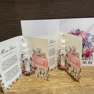 ディオール(Dior)のディオール【新品未使用】ミスディオールオードゥパルファン ミニ香水 2本セット(香水(女性用))