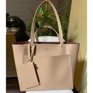 マリークワント(MARY QUANT)のMARY QUANT マリークワント ベージュ系ピンクのハンドバッグ(ハンドバッグ)