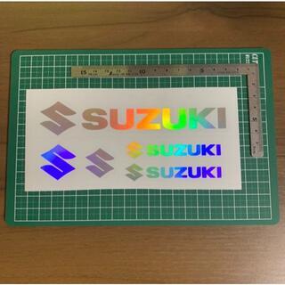 スズキ(スズキ)のSUZUKI スズキ ステッカー ホロ ハンドメイド ブラックバス 送料無料(車外アクセサリ)