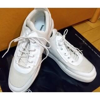 ティンバーランド(Timberland)の新品限界値下最安値ティンバーランド白スニーカー未使用26.5cm靴シューズ皮革(スニーカー)