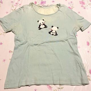 ピンクハウス(PINK HOUSE)のTシャツ カットソー PINK HOUSE ピンクハウス パンダ(Tシャツ(半袖/袖なし))