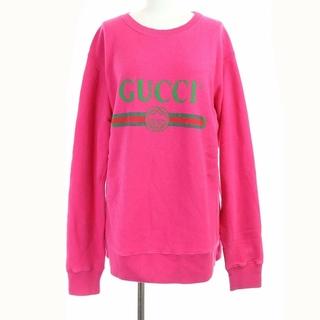 グッチ(Gucci)のグッチ スウェット トレーナー GGロゴ シェリーライン ヴィンテージロゴS(トレーナー/スウェット)
