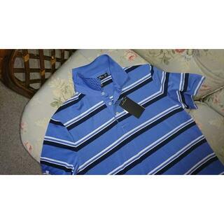 新品☆ラルフローレンゴルフ  RLX  ポロシャツ  US M ボーダー