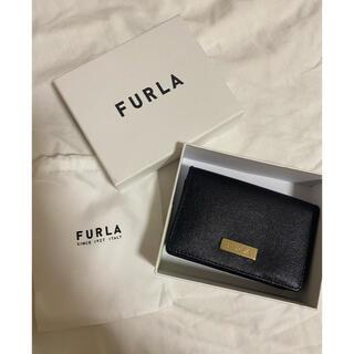 フルラ(Furla)のFURLA 名刺入れ ブラック(名刺入れ/定期入れ)