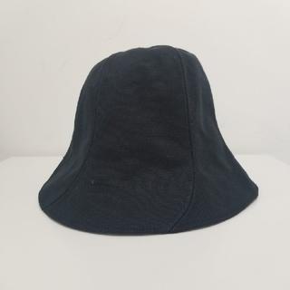 コモリ(COMOLI)のMASU WINDMILL HAT BLACK(ハット)