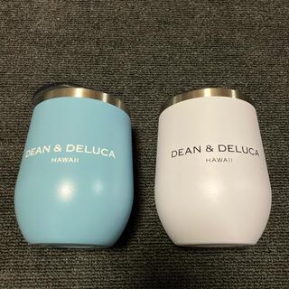 DEAN & DELUCA - 新品 DEAN &DELUCA ハワイ限定 タンブラー 2個セット ブルー 白