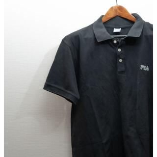 フィラ(FILA)のFILA フィラ ポロシャツ 黒 半袖(ポロシャツ)