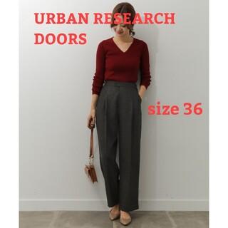 ドアーズ(DOORS / URBAN RESEARCH)のアーバンリサーチドアーズ グレンチェックトラウザー(カジュアルパンツ)