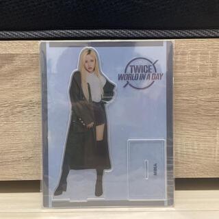 ウェストトゥワイス(Waste(twice))の【新品未開封】TWICE トゥワイス MINA ミナ アクリルスタンド(K-POP/アジア)