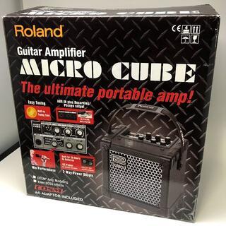 ローランド(Roland)の【動作確認済】Roland ギターアンプ MICRO CUBE★マイクロキューブ(ギターアンプ)