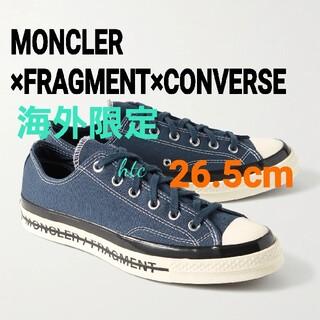 モンクレール(MONCLER)のMONCLER×FRAGMENT×CONVERSE☆フレイラーⅢフラグメント藤原(スニーカー)