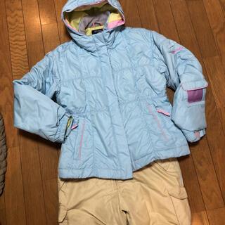オンヨネ(ONYONE)のオンヨネ スキーウェア 上下 女の子 160 美品(ウエア)