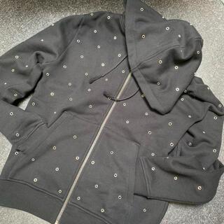 サンローラン(Saint Laurent)のsaint laurent paris black zip hooded(パーカー)