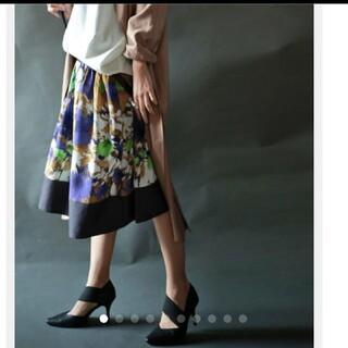 アンティカ(antiqua)のアンティカ  試着のみスカート(ひざ丈スカート)