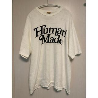 アベイシングエイプ(A BATHING APE)のHUMAN MADE/girls don't cry Tシャツ XL 伊勢丹新宿(Tシャツ/カットソー(半袖/袖なし))