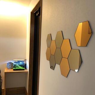イケア(IKEA)のIKEA ホーネフォッス ハニカム(壁掛けミラー)