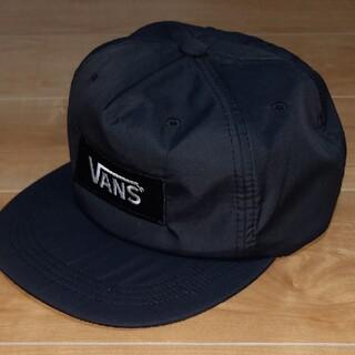 ヴァンズ(VANS)のVANS ナイロンキャップ ブラック(キャップ)