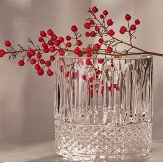 エルメス(Hermes)のエルメス サンルイ クリスタル ガラスキャンドルセット(置物)