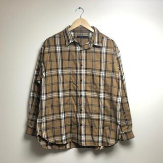 レイジブルー(RAGEBLUE)の古着 レイジブルー rageblue  チェック シャツ オーバーサイズ(シャツ)