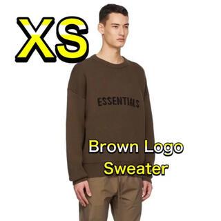 フィアオブゴッド(FEAR OF GOD)のFOG Essentials エッセンシャルズ ニット セーター ブラウン XS(ニット/セーター)