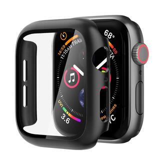 アップルウォッチ(Apple Watch)の【新品】Nimaso Apple Watch 44mm用ケース ブラック(モバイルケース/カバー)