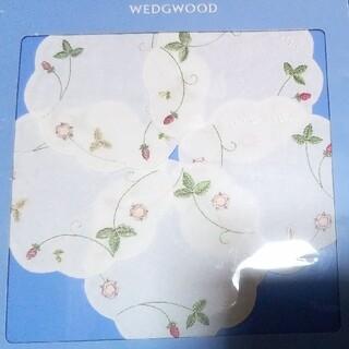 ウェッジウッド(WEDGWOOD)のwedgewood ウェッジウッド 入手困難 ワイルドストロベリーコースター5枚(テーブル用品)