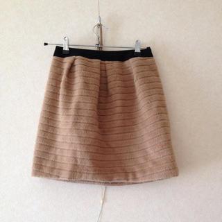 デンドロビウム(DENDROBIUM)のバビロン アンゴラ混スカート(ミニスカート)