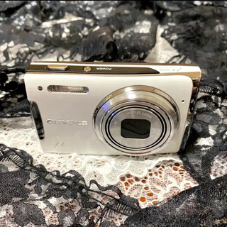 OLYMPUS - 可愛い♪【OLYMPUSu1060】古いけど小さくて軽くて愛せる♪デジタルカメラ
