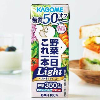 カゴメ(KAGOME)の😊ご専用です😊カゴメ🍅野菜一日これ一本 Light 🍅36本(野菜)