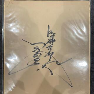 阪神タイガース - 《惜別・超絶レア!》元阪神タイガース 小林繁選手 直筆サイン色紙