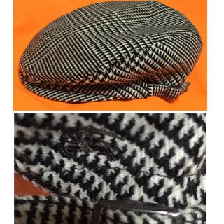 バーバリー(BURBERRY)の✨美品【BURBERRY BLAK LABEL】 ハンチング(ハンチング/ベレー帽)