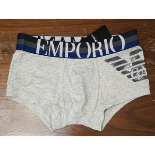 エンポリオアルマーニ(Emporio Armani)のエンポリオアルマーニ 新品 メンズ ボクサーパンツ(イーグル/ライトグレーS)(ボクサーパンツ)