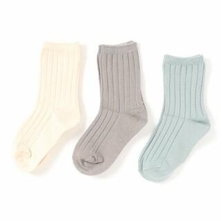 ローリーズファーム(LOWRYS FARM)のLOWRYS FARM カラー 3P ソックス 靴下 19 20 21(靴下/タイツ)